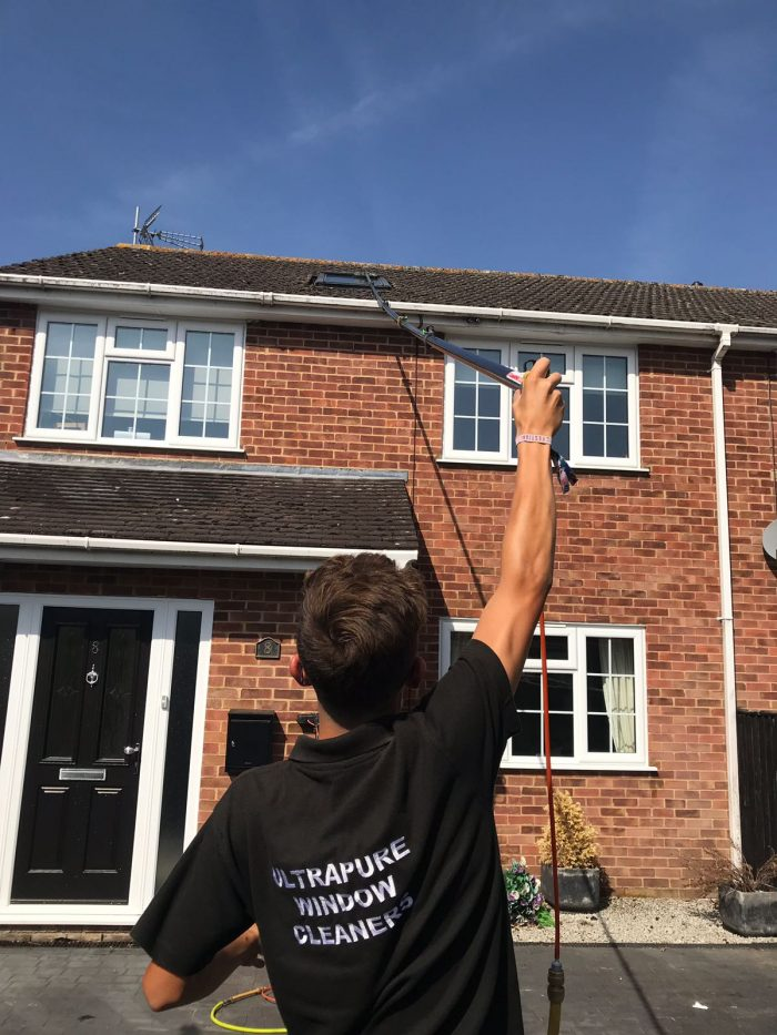 Fascia Amp Gutter Cleaning Ultrapure Window Cleaners